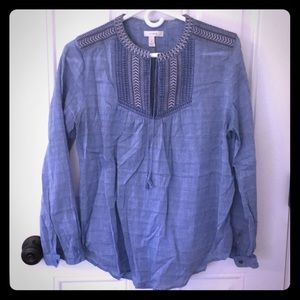 J Crew summer blouse- size 8